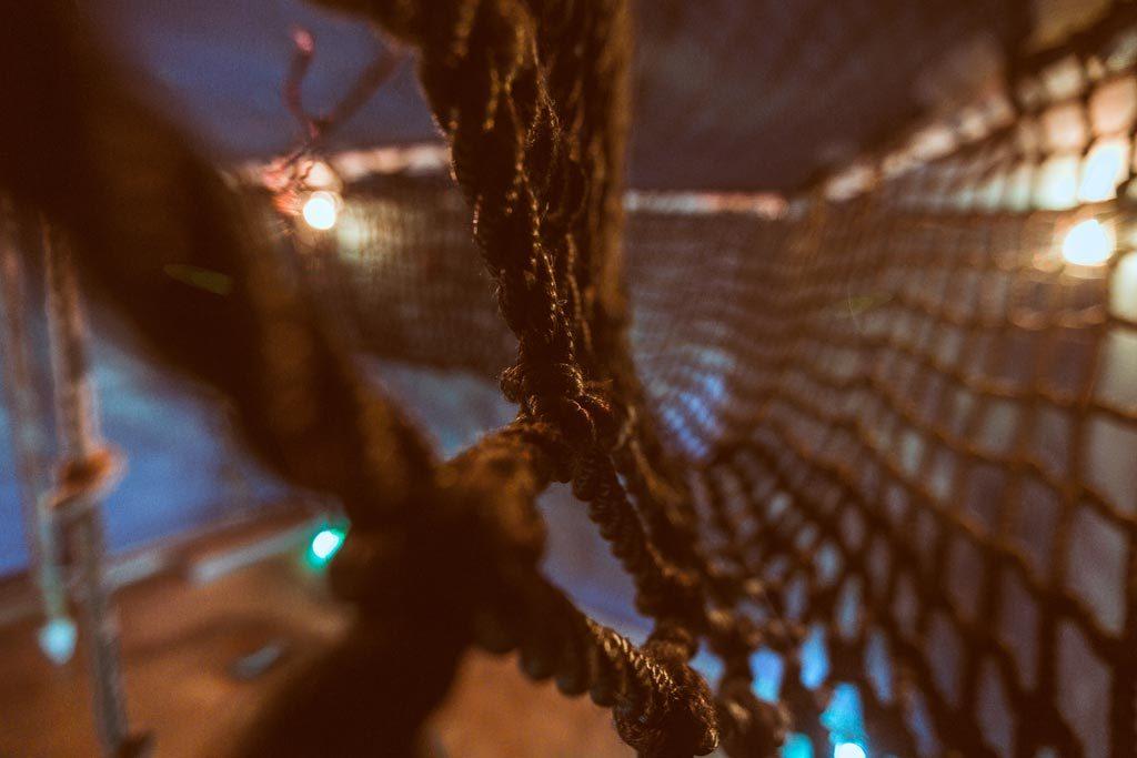 Σχοινιά από το δωμάτιο απόδρασης The Survivor στη Θεσσαλονίκη