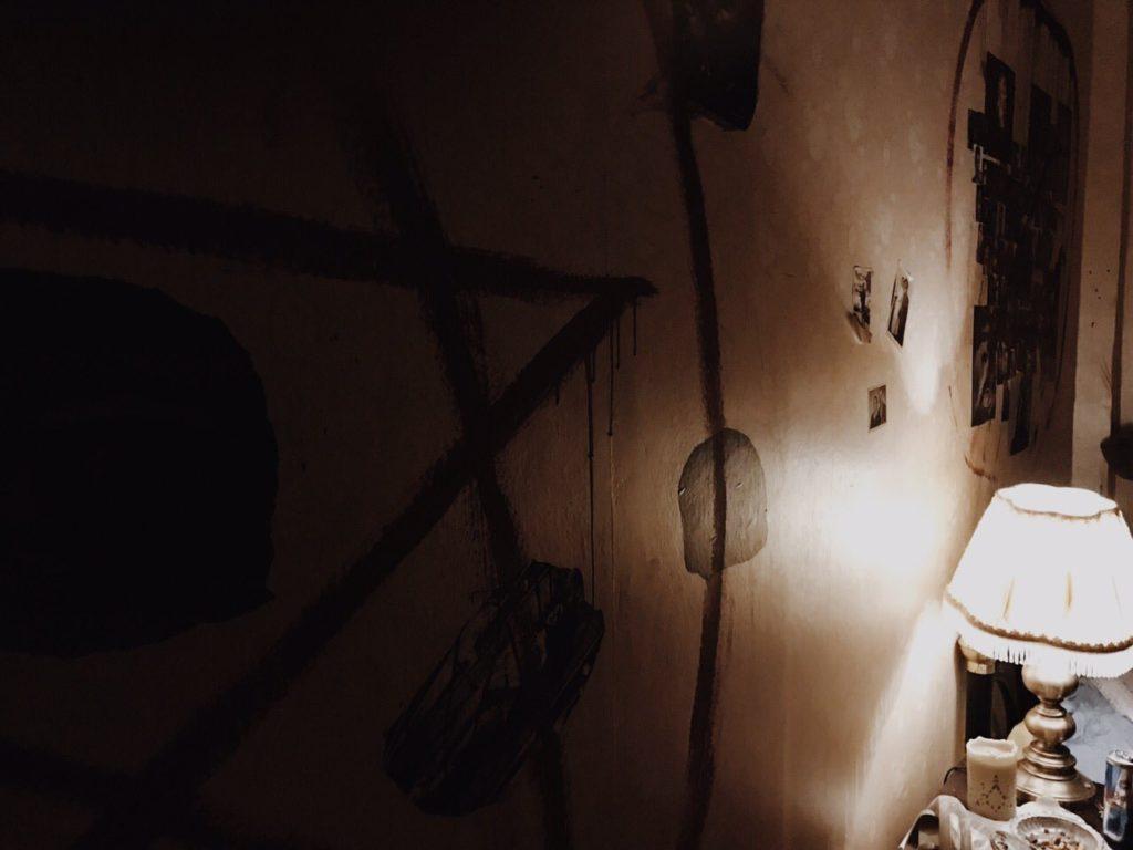 Σκοτεινό δωμάτιο στο escape room Θεσσαλονίκη