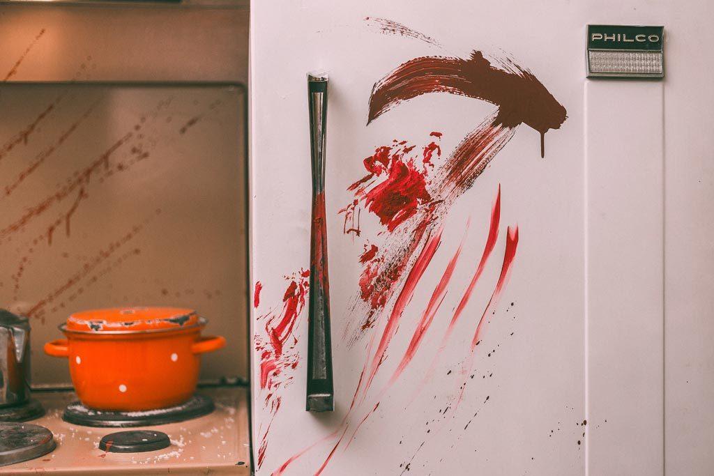 Ψυγείο με αίματα στο The ritual