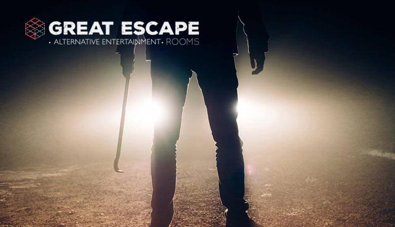 Άντρας με λοστό σε Escape Rooms Θεσσαλονίκη