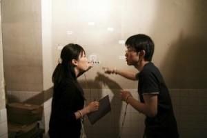 ζευγάρι σε escape στη rooms Θεσσαλονίκη - Ασία Ευρώπη