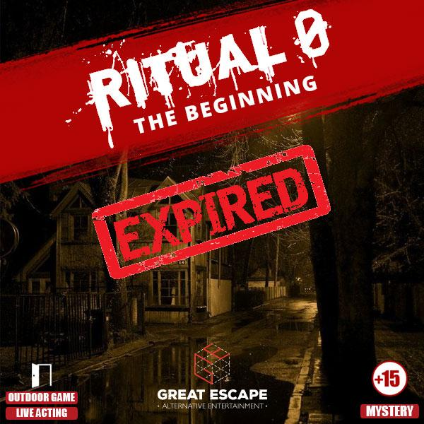 Ritual 0 The Beginning escape room thessaloniki