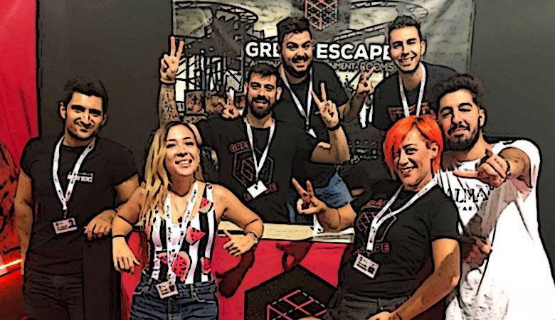 Great Escape team