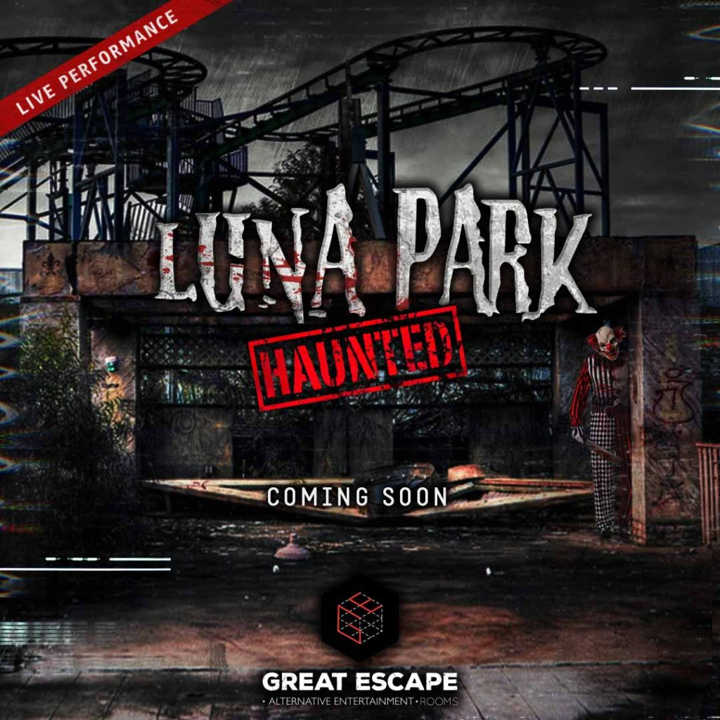 escape rooms thessaloniki Luna Park Haunted