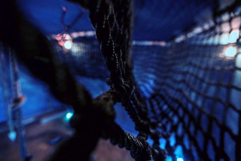 Κατασκευή από σκοινιά στο The Survivor Escape Room