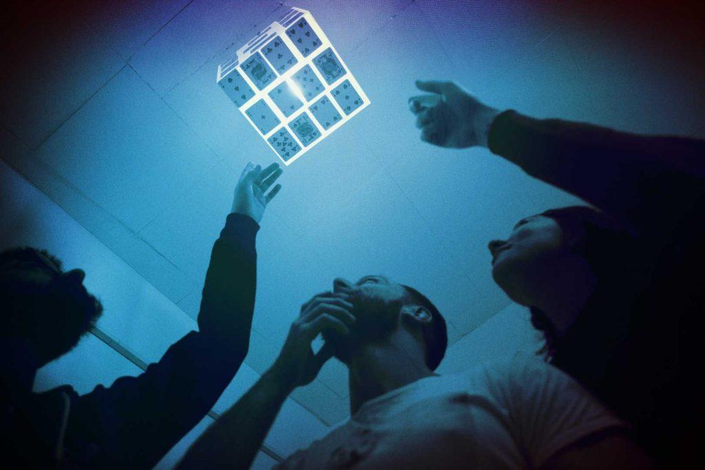 Γρίφος στην οροφή του Inception Escape Room Θεσσαλονίκη