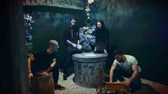 Τέσσερις φίλοι στο the Perfect Crime Escape Room Θεσσαλονίκη
