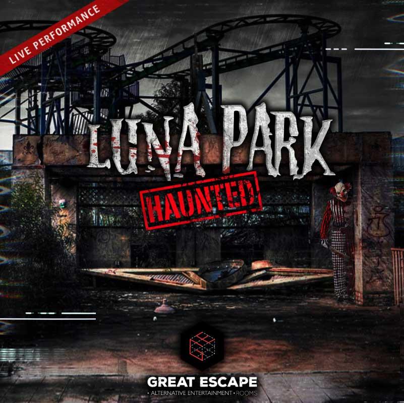 Luna Park Haunted Escape Room - Great Escape Rooms Thessaloniki